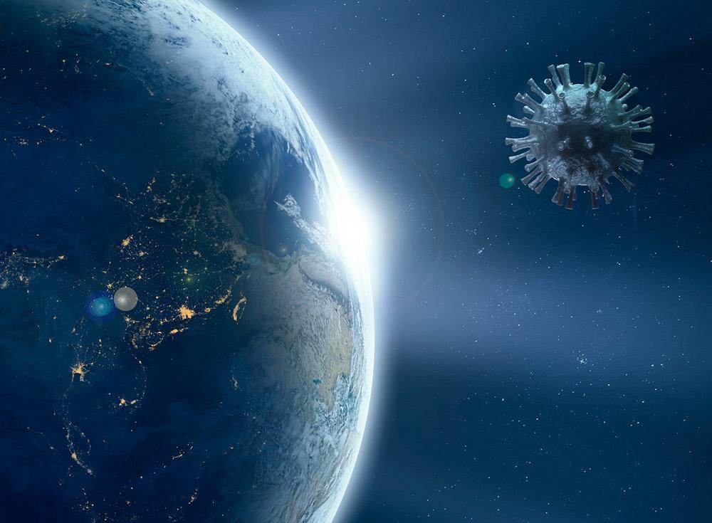 Coronavirus en la Tierra