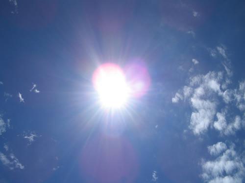 La luz del sol alimento y medicamento caminos al ser for Luz solar para exterior
