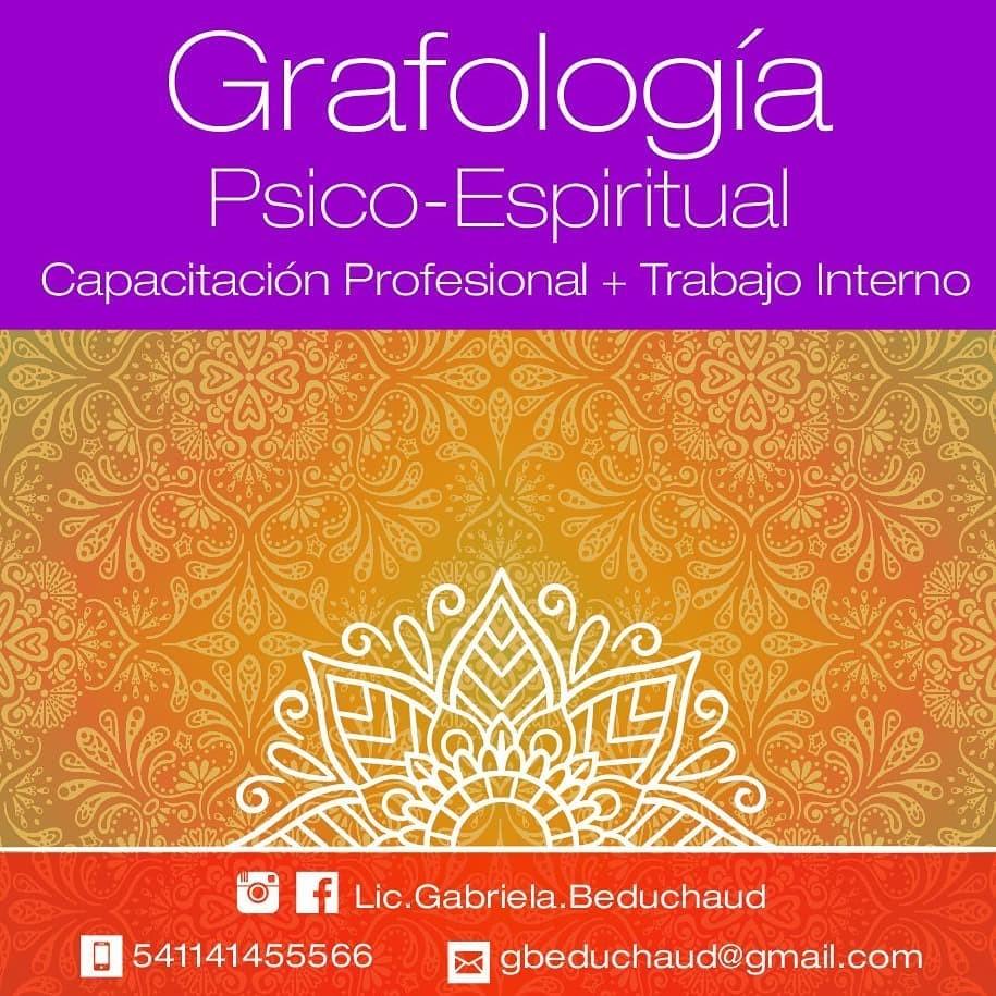 Grafología Psicoespiritual, Capacitación Profesional + Trabajo Interno