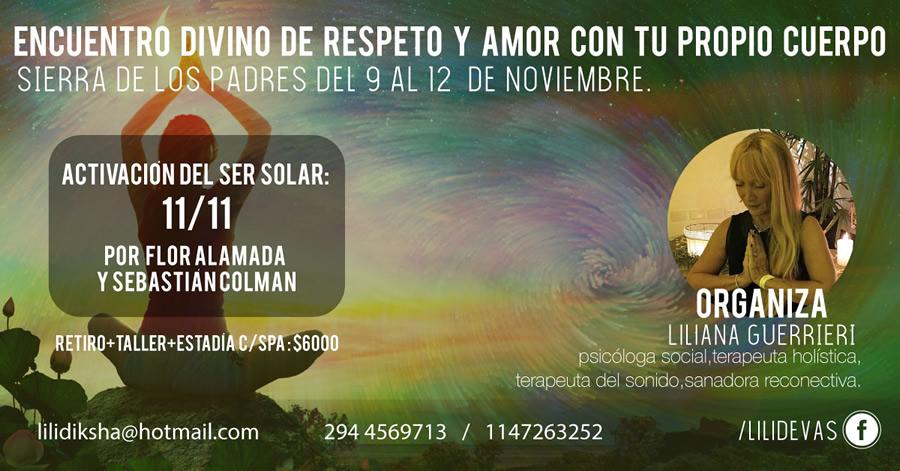 Encuentro de Sanación en  San Martin de los Andes 5, 6, 7 y 8 de Octubre 2018 - Un Encuentro de Purificación y Conexión con el Deseo del Corazón