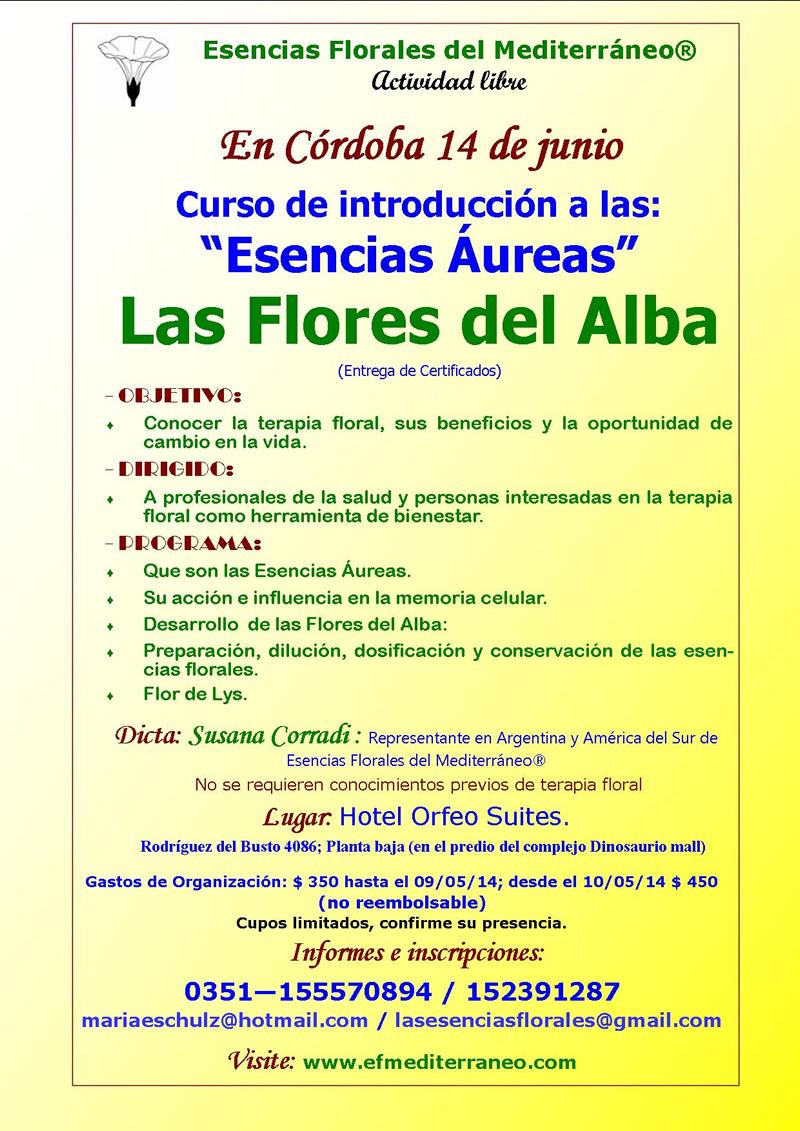 Curso de Introducción a las Esencias Aureas - Las Flores del Alba