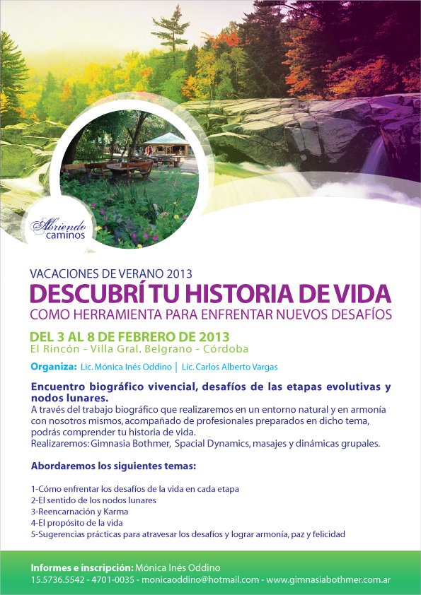 Vacaciones Saludables 2013