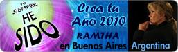 Ramtha en Buenos Aires, Argentina - Crea tu Año 2010 - 15, 16 y 17 de Enero de 2010