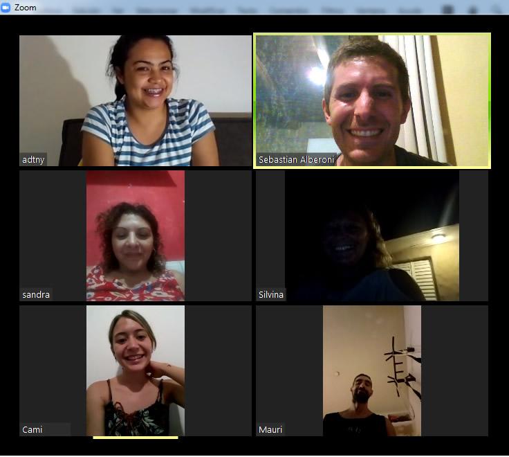 Reuniones en Sala Virtual Zoom