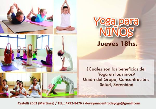 yoga ninios
