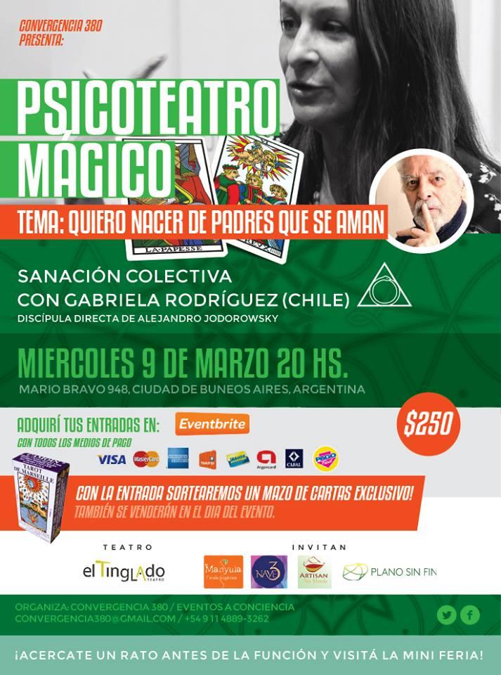 Psicoteatro mágico Marzo 2016