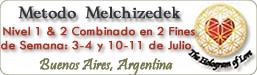 Método Melchizedek - Curso Nivel 1 & 2 Combinado en Buenos Aires, Argentina, Nivel 1&2 combinado en 2 fines de semana: 3-4 y 10-11 de Julio 2010