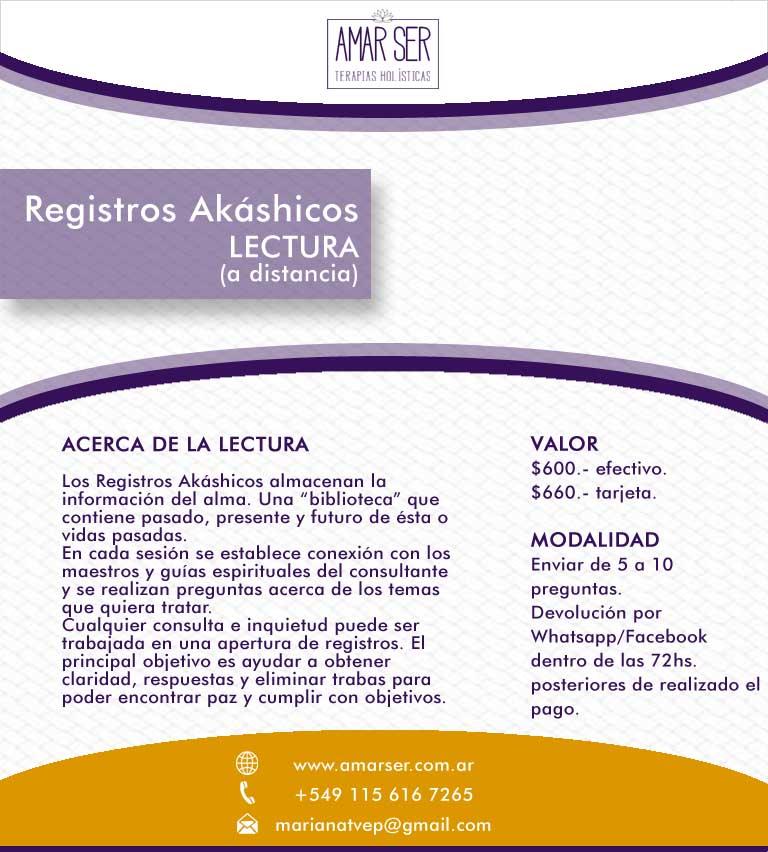Lectura de Registros Akashicos a Distancia
