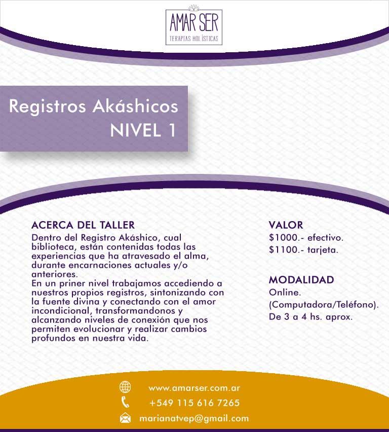 Curso Formación Registros Akáshicos Nivel 1