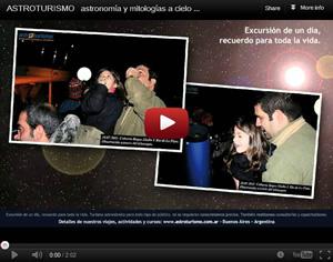 Astroturismo - Video